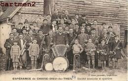 ESPERANCE DE CHAISE-DIEU-DU-THEIL SOCIETE MUSICALE ET SPORTIVE FANFARE ACCORDEON TAMBOUR 27 EURE - France