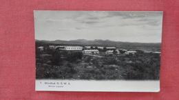 Windhuk D.S.W.A. Militair Lazaret---ref 2479 - Postcards