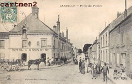 JANVILLE PORTE DU PUISET TRES ANIMEE 28 EURE-ET-LOIR - Francia