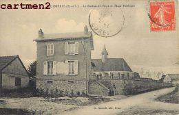 SAULNIERES BUREAU DE POSTES ET PLACE PUBLIQUE 28 EURE-ET-LOIR - Francia