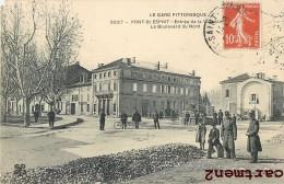 PONT-SAINT-ESPRIT ENTREE DE LA VILLE BOULEVARD DU NORD ANIME 30 GARD - Pont-Saint-Esprit