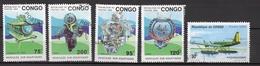 Congo Scott N°1021/1024..oblitérés - Congo - Brazzaville