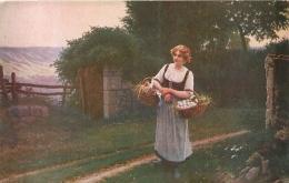 SALON DE PARIS C. BELLANGER JEUNE FERMIERE LUXOCHROMIE - Peintures & Tableaux