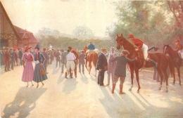 SALON DE PARIS  C.  NEYMARK LA RENTREE AU PESAGE LUXOCHROMIE - Peintures & Tableaux