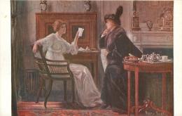 SALON DE PARIS  HENRY TENRE LA LETTRE  LUXOCHROMIE - Peintures & Tableaux
