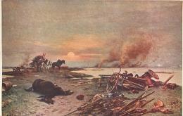 SALON DE PARIS  R. ARRUS L'YSER 1914  LUXOCHROMIE - Peintures & Tableaux