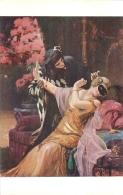 SALON DE PARIS  D.  ETCHEVERRY SOUS LE MASQUE  LUXOCHROMIE - Peintures & Tableaux