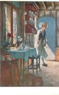 SALON DE PARIS  H.   DARIEN ME VOICI   LUXOCHROMIE - Peintures & Tableaux