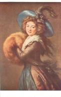 MUSEE DU LOUVRE  LE BRUN VIGEE  PORTRAIT DE MADAME MOLE  RAYMOND LUXOCHROMIE - Peintures & Tableaux