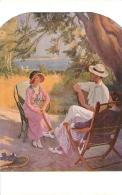 SALON DE PARIS A. V.  FOURNIER MATCH  ABANDONNE LUXOCHROMIE - Peintures & Tableaux