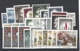 Jahrgang 1968 Kpl. Gestempelt - Österreich