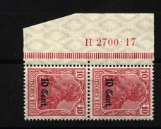 Etappe West,4b,HAN,xx,gep - Besetzungen 1914-18