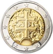 Slovakije 2017     2 Euro      UNC Uit BU  UNC Du Coffret  !! - Slovaquie
