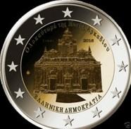Griekenland  2016    2 Euro  Arkadi Klooster       UNC Uit De Rol  UNC Du Rouleaux !! - Grèce
