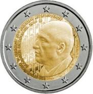 Griekenland  2016    2 Euro  Dimitri  Mitropoulos  LEVERBAAR !!!!      UNC Uit De Rol  UNC Du Rouleaux !! - Grèce