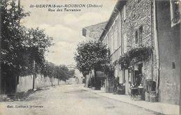 St Saint-Gervais-sur-Roubion (Drôme) - Rue Des Terrasses - Edition Serre Père Et Fils - Collection Thomas - Francia