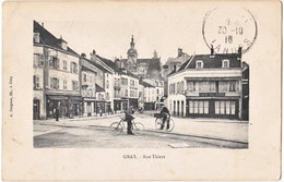 70. GRAY. Rue Thiers - Gray