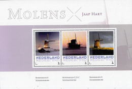 Nederland - 18 Mei 2015 - Molens/Moulins/Mills/Mühlen - Jaap Hart - MNH -  Blok 3 Zegels - Molens