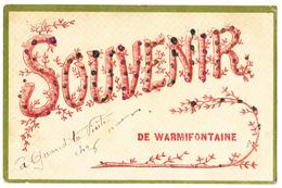 Warmifontaine: Souvenir De... - Neufchâteau