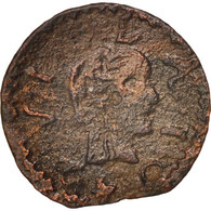 Espagne, CATALONIA, Louis XIII, Dinero, 1642, Tarrega, TB, Cuivre, KM:79
