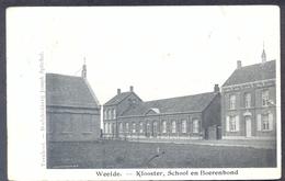 WEELDE - Klooster,School En Boerenbond (Feldpost) - Ravels