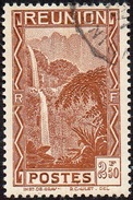 Réunion Obl. N° 174 - Vue -> Bras Des Demoiselles Le 2f50 Brun - Réunion (1852-1975)