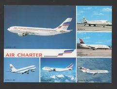 DD / TRANSPORTS / AVIATION / AVIONS DE LA FLOTTE AIR CHARTER FILIALE D'AIR FRANCE ET D'AIR INTER - 1946-....: Moderne