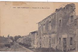 Les Paroches - Ruines De La Rue-Grande - Circulé 1926, Timbres Décollés - France