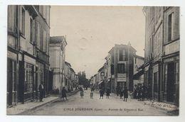 32 - L´ISLE JOURDAIN - Avenue De Gimont Et Rue - - Otros Municipios