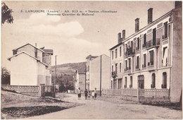 48. LANGOGNE. Nouveau Quartier De Malaval. 5 - Langogne