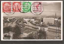 Flugpost Zittau 3.7.1933>Berlin>Kobenhavn>ISLAND !! - Briefe U. Dokumente