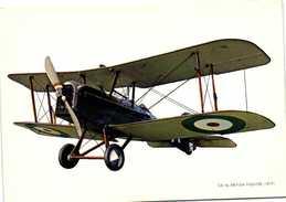 S.E. BRITISH FIGHTER  (1917) Recto Verso - 1914-1918: 1ra Guerra