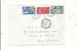 1L Timbrée Avec FISCAL N° 388 En Affranchissement Composé à 2.20fr....le 13/4/1987....INSOLITE.....à Voir....... - Fiscaux