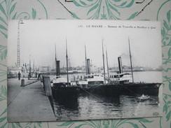 Le Havre. Bateaux De Trouville Et Honfleur A Quai - Le Havre