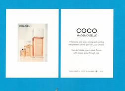 Cartes Parfumées  Carte  CHANEL COCO MADEMOISELLE   De  CHANEL CARTE AMÉRICAINE - Cartes Parfumées