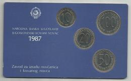 Yugoslavia 1987. Official Coin Set Mint Set - Joegoslavië