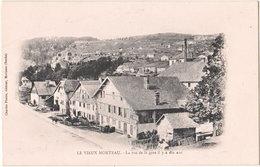 25. LE VIEUX MORTEAU. La Rue De La Gare Il Y A Dix Ans - Francia