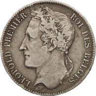 Belgique, Leopold I, 5 Francs, 5 Frank, 1849, TB+, Argent, KM:3.2 - 11. 5 Francs