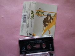 ACDC K7 AUDIO VOIR PHOTO...ET LIRE IMPORTANT...  REGARDEZ LES AUTRES (PLUSIEURS) - Audiokassetten