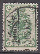 FINLAND     SCOTT NO.  65     USED     YEAR  1901      PERF. 14.5 X15 - 1856-1917 Russian Government