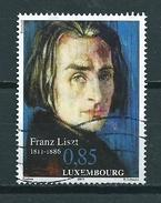 2011 Luxemburg Franz Liszt 0,85 Cent Used/gebruikt/oblitere