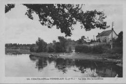 CPA 35 -CHATILLON EN VENDELAIS -Le Coin Des Lavandières - France