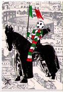 CARTOLINA POSTALE  CON ANNULLO 4-11-89 -VERSO ITALIA 90 - 73 MANIFESTAZIONE FILATELICA VERONA - 6. 1946-.. Repubblica