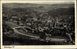 Cp Elsterberg An Der Weißen Elster Vogtland, Panorama Von Der Ortschaft - Deutschland