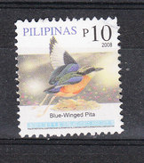 Filippine   Philippines  -  2008. Passero Blu.Blue Winged Pita. Fine