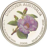 Australie, Elizabeth II, 15 Dollars, 2006, Perth, FDC, Platinum, KM:982 - Monnaie Décimale (1966-...)