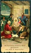 SANTINO - Gesu' Bambino - Santino Antico Con Preghiera, Anno 1917, Come Da Scansione - Images Religieuses