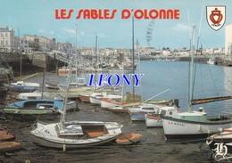 """CPM Des SABLES D'OLONNE (85) - Le PORT De PÊCHE Au Fond """" LA CHAUME """" N° 133 A - Sables D'Olonne"""