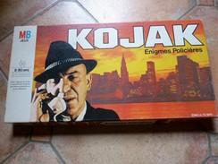 JEUX MB KOJAK - Enigmes Policières, 8 à 80 Ans -  Années 1960 Vintage  - - Group Games, Parlour Games