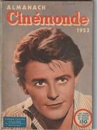 ALMANACH  CINEMONDE 1953 - Cinéma/Télévision